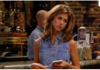 Rachel dans FRIENDS